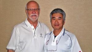 Dr.Furと私 2010ハワイ国際セミナーにて