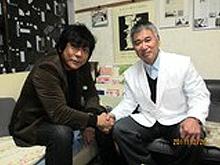 プロレスラー・大仁田厚氏と