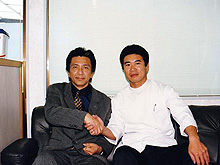1997年、俳優、大石吾朗氏と